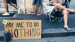 Risultati immagini per pay me to do nothing
