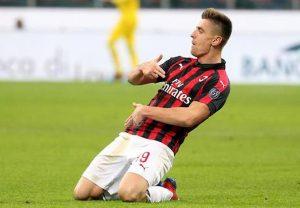 Piatek Verona Milan esultanza rigore zittisce qualcuno