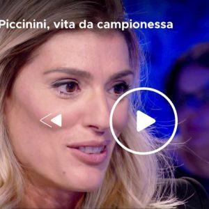 Francesca Piccinini a Verissimo