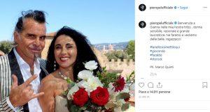 Piero Pelù e Gianna sposi