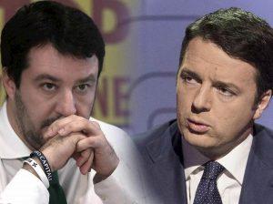 Renzi e Salvini, confronto tv a metà ottobre da Vespa