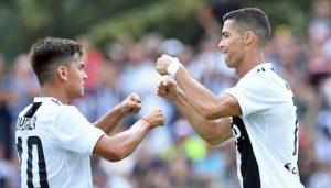 Rigore Juventus Verona Cristiano Ronaldo completa rimonta