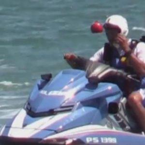 Figlio Salvini su moto acqua polizia indagati