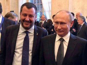 Salvini a Putin o Conte a Macron: per favore fammi indagine sul mio nemico...