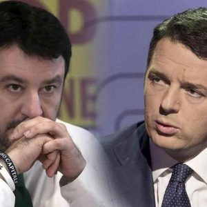 """Salvini-Renzi allenamento per Porta a Porta da Vespa: """"Vendutello hai paura"""". """"Rivai di mojito"""""""