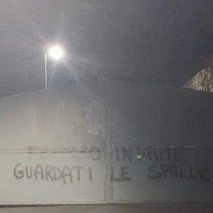 Sampdoria minacce Ferrero FOTO scritte minacciose