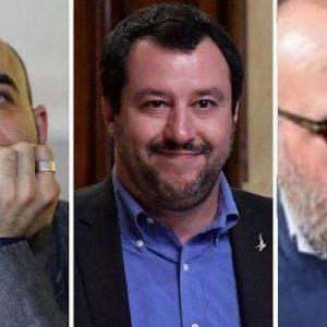 Roberto Saviano e Fabio Sanfilippo, 2 giornalisti anti-Salvini. Da lui due pesi e due misure