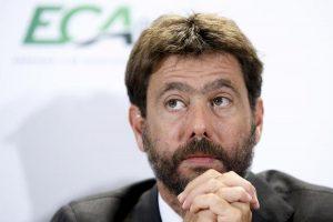 Super Champions Juventus Napoli Inter alleanza Agnelli presidente Eca