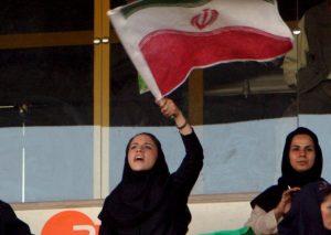 Iran tifosa calcio morta
