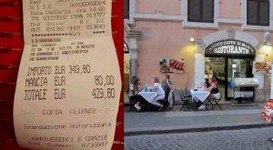 roma turiste pagano 430 euro