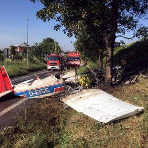 Bergamo, precipita ultraleggero: 1 morto e tre feriti