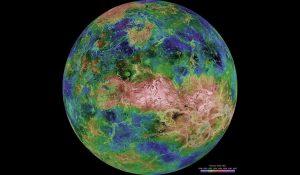 Venere oceani clima temperato