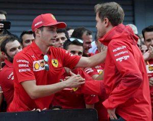 Vettel Leclerc lite Ferrari Binotto è tutto risolto dopo Monza
