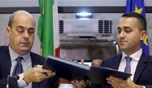 Nicola Zingaretti porta il Pd sotto il tacco di Di Maio e del M5s in crisi