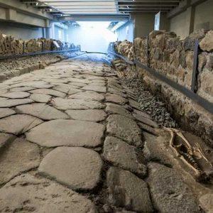 Gerusalemme, strada romana di 2mila anni fa riportata alla luce