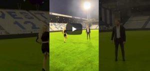 Diletta Leotta palleggi tacchi video YouTube Spal Napoli