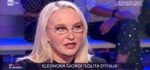 """La Vita in Diretta, Eleonora Giorgi: """"Ho avuto problemi con la droga"""""""
