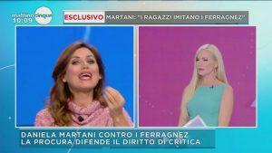 """Mattino 5, Federica Panicucci a Daniela Martani: """"Ma tu conosci la differenza tra…"""""""