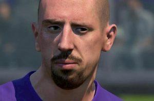 Fiorentina Ribery Fifa 20 foto adesso somiglia al calciatore viola