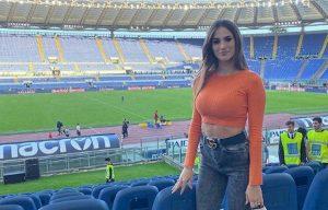 Jessica Melena Immobile Instagram quanti like durante Lazio Atalanta