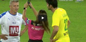 Kaka selfie arbitro video YouTube durante partita leggende
