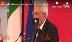 Sergio Mattarella, Vista