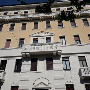 Il condominio riqualificato di viale Murillo 10 a Milano