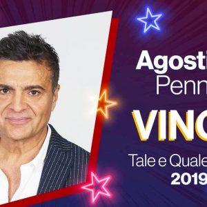 Tale e Quale Show, Agostino Penna vince la nona edizione. Venerdì 25 ottobre il super torneo