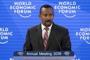 Il premier etiope Aby Ahmed Ali Nobel per la Pace 2019
