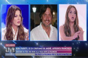 Alba Parietti contro Francesca De André