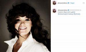 Il nuovo look di Alena Seredova