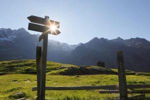 Temperature in picchiata in montagna in Alto Adige