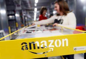 Trimestrale Amazon, utili in calo