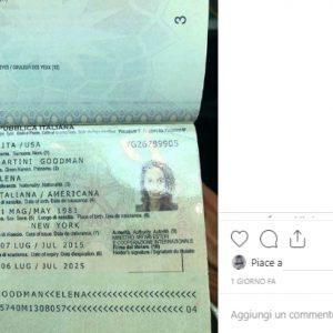 andrea delogu passaporto instagram