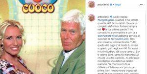 Beppe Bigazzi Antonella Clerici telefonata