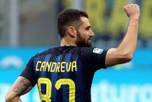 Barcellona Inter gol Candreva Champions ecco perché è stato annullato