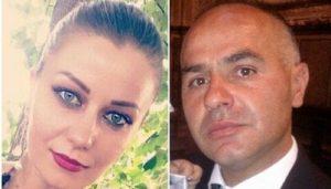 La vittima, Zinaida Solonari, e il marito che l'ha uccisa Maurizio Quattrocchi, Facebook
