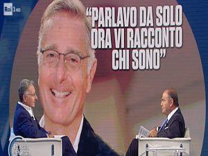Paolo Bonolis a Porta a Porta