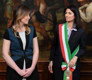 Roma, sfida Raggi-Boschi nel 2021?