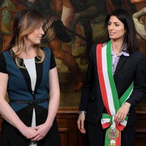 Roma,. sfida Raggi-Boschi nel 2021?