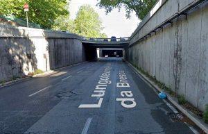 Roma, chiuso il sottopassaggio Arnaldo da Brescia: verifiche su tenuta struttura