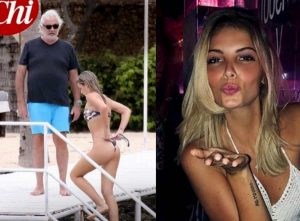 Flavio Briatore, nuova fiamma Benedetta Bosi: ha 49 anni meno di lui