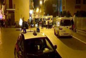 I carabinieri sul luogo dell'omicidio, Ansa