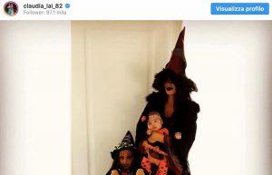 Claudia Nainggolan Halloween Instagram foto per sfogarsi con i suoi fan