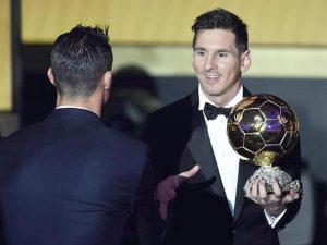 Cristiano Ronaldo ossessionato Pallone d'Oro Messi
