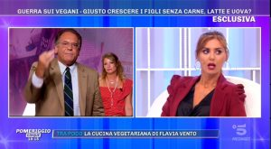 Daniela Martani e Cecchi Paone a Pomeriggio 5