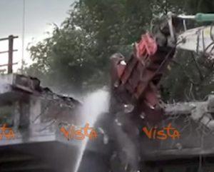 roma demolizione tangenziale est