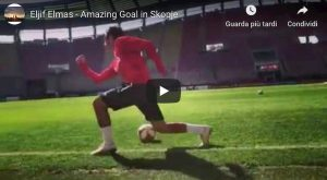 Elmas gol dietro porta video YouTube Macedonia Allenamento