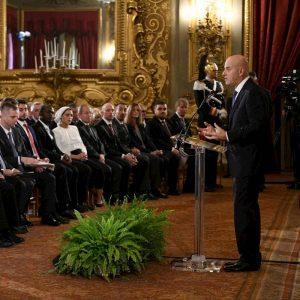 Claudio Descalzi agli eni award