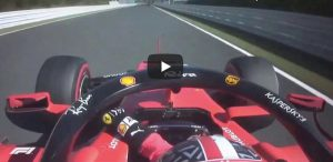 Ferrari Leclerc specchietto YouTube video Formula 1 Giappone